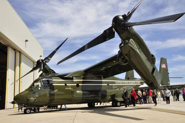 Ospreys Delivered to Marine Presidenti...