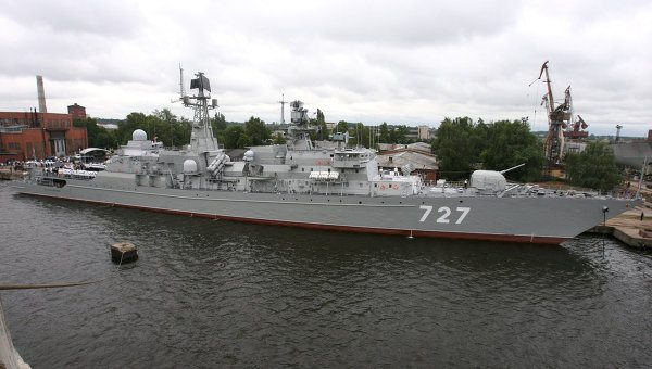 Russian Pacific Fleet Warships to Ente...
