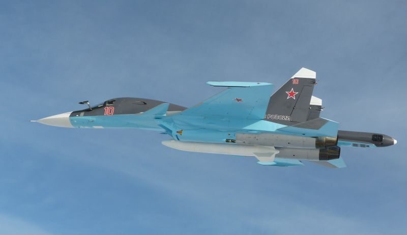 Sukhoi Delivers the First Su-34 Frontl...