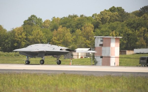 X-47B Completes Key Milestone As It Prepares for Carrier Tests At Sea