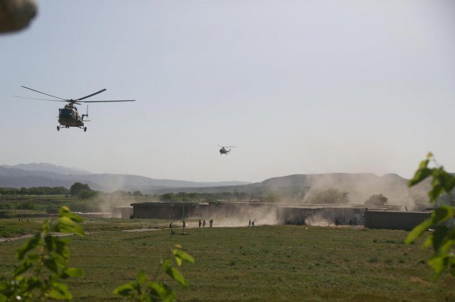 Air assault, the Afghan way