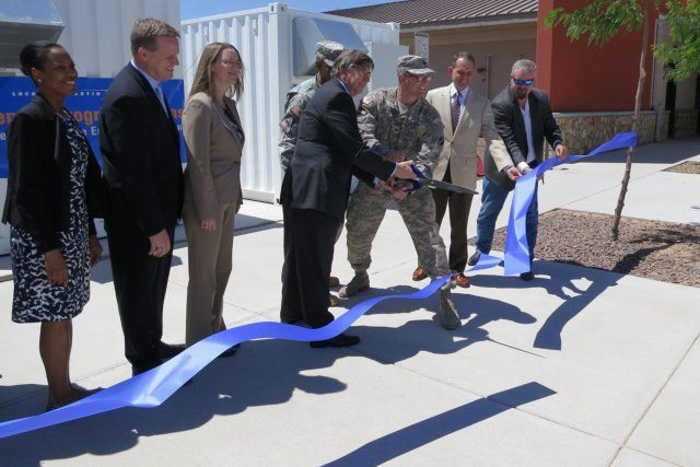 Fort Bliss unveils Army's first microg...