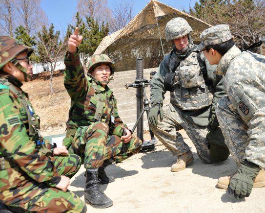 Army operations on Korean Peninsula pr...