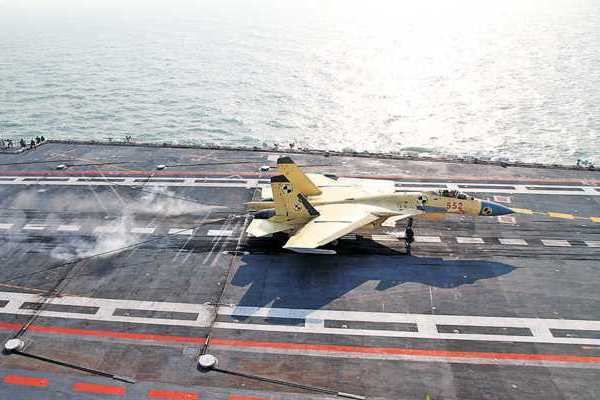 China's Navy Forms First Carrier-Borne Jet Force
