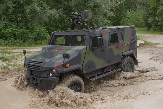 Germany Orders 100 Eagle V 4x4 Vehicle...