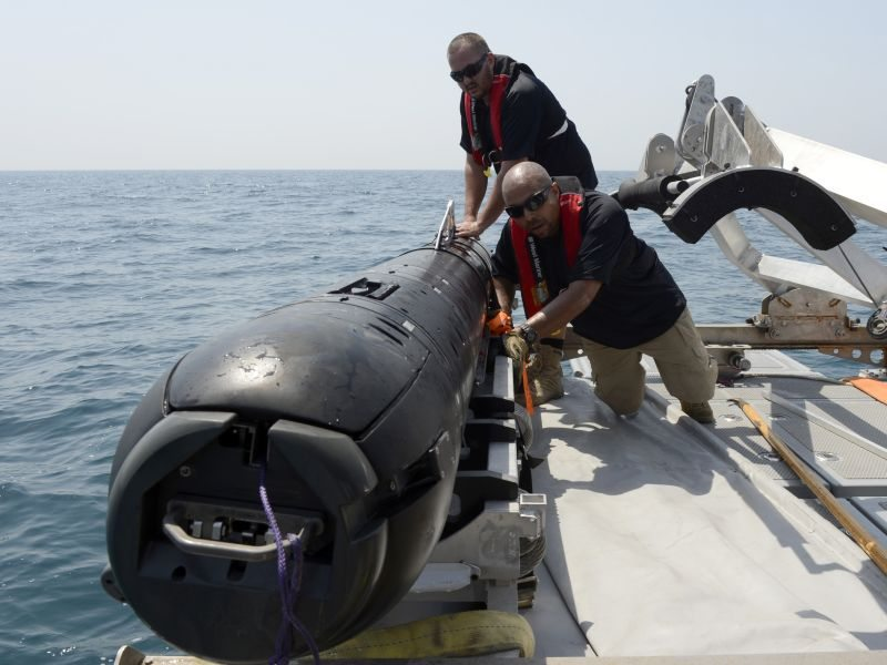 MK18 Kingfish UUV Deployed to 5th Fleet