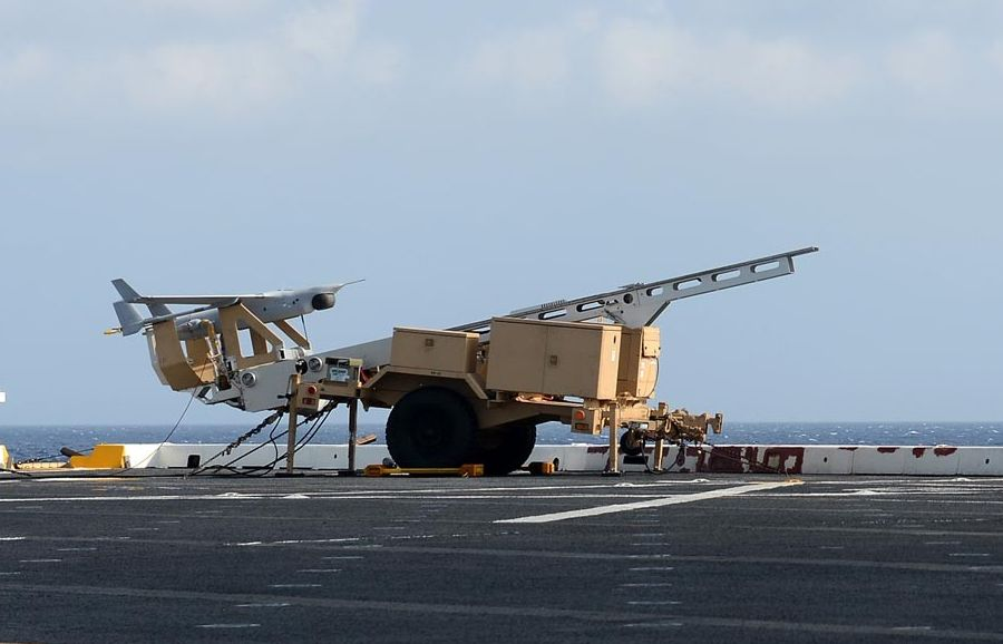 RQ-21A Small UAS Completes First East ...