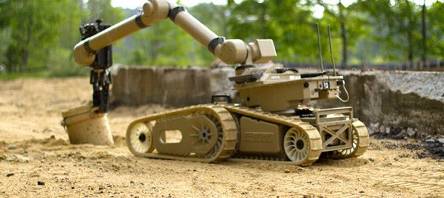 Heftier unmanned ground vehicle offers...