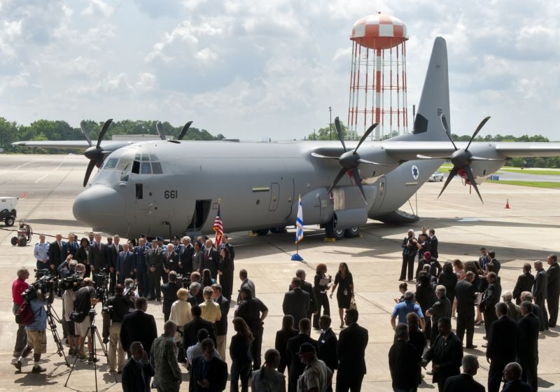 Israel Receives First C-130J Super Her...