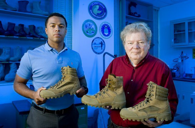 Putting new boots on the ground