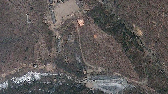 North Korea Nuclear Test Site