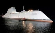 First Zumwalt Class Destroyer Launched