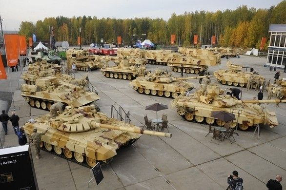 UVZ Displays New Vehicles At Russia Arms Expo 2013   at ...