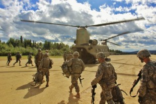 Air Force, Army work together during exercise