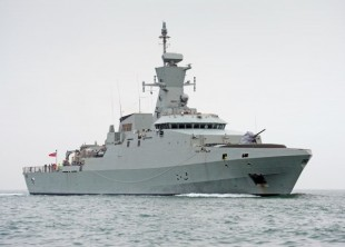 New Corvette Handed Over to the Royal Navy of Oman