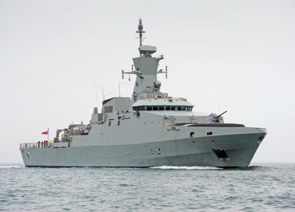 New Corvette Handed Over To The Royal Navy Of