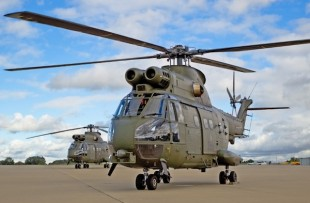 RAF Begins Training on Upgraded Puma Mk2 Helicopter
