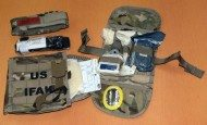 New Army first aid kit includes eye protection, strap cutter
