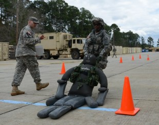 Study assesses physical demands for combat arms