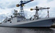 Russia Floats Out New Frigate for Black Sea Fleet