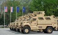 AFSBn-Italy prepares MRAPs for transfer to Croatia