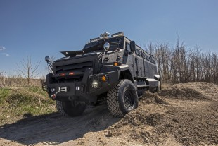 INKAS Introduces Huron – Unique Armored Personnel Carrier