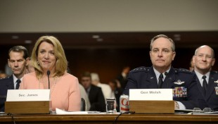 US Air Force secretary reports on total force balance
