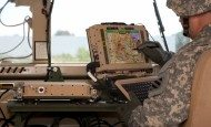 'Apps on a map' link the command post, mounted, dismounted Soldiers