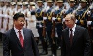 China, Russia show off naval forces amid disputes