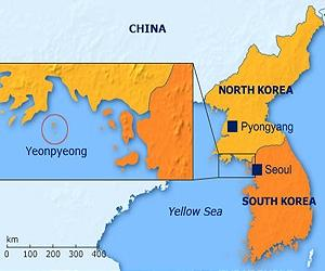 yeonpyeong-island-korea-map