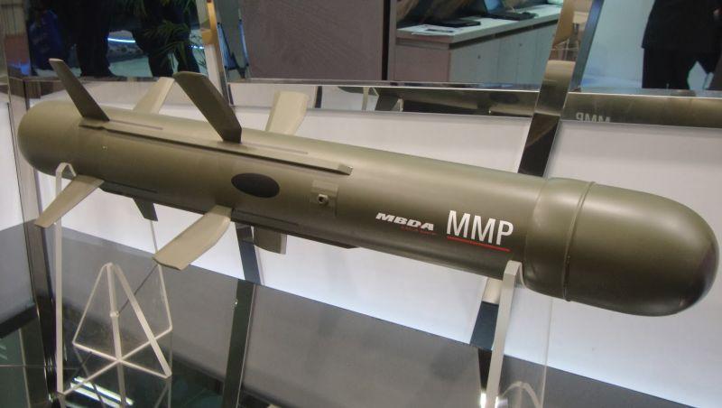 Resultado de imagen para Missile Moyenne Portee (MMP)
