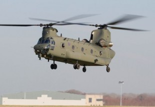 RAF Flying High In New Chinook Helicopter