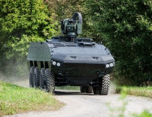 Patria Claims New Standard for AMV XP Armored Vehicle