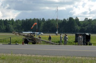 Shadow UAS platoon has 15th successful launch in Latvia
