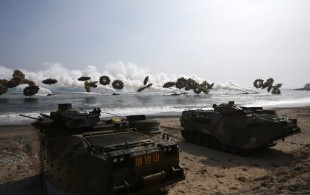 South Korea-US naval drill begins in face of North's anger