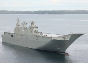 First Australian LHD On Final Builder's Trials
