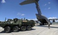 Joint Effort Validates Ability to Move Stryker Vehicles Via Air