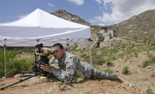 Rapid Equipping Force, PEO Soldier test targeting device