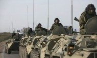 Russian troops launch mass drills close to Ukraine
