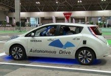 NASA Nissan autonomous vehicle