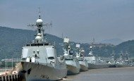 Chinese Navy Guided Missile Destroyers