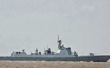 China type-52D Destroyer