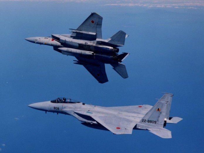 F-15J fighter aircraft