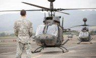 Kiowa Warrior helicopters