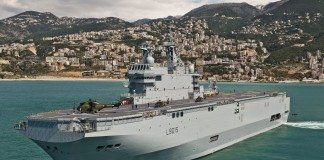 Mistral Class Warship