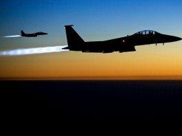 U.S. Air Force F-15E Strike Eagles