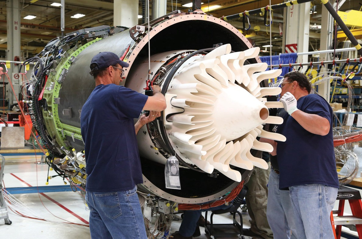 Ge Tests Rotating Ceramic Composite Material For Fighter