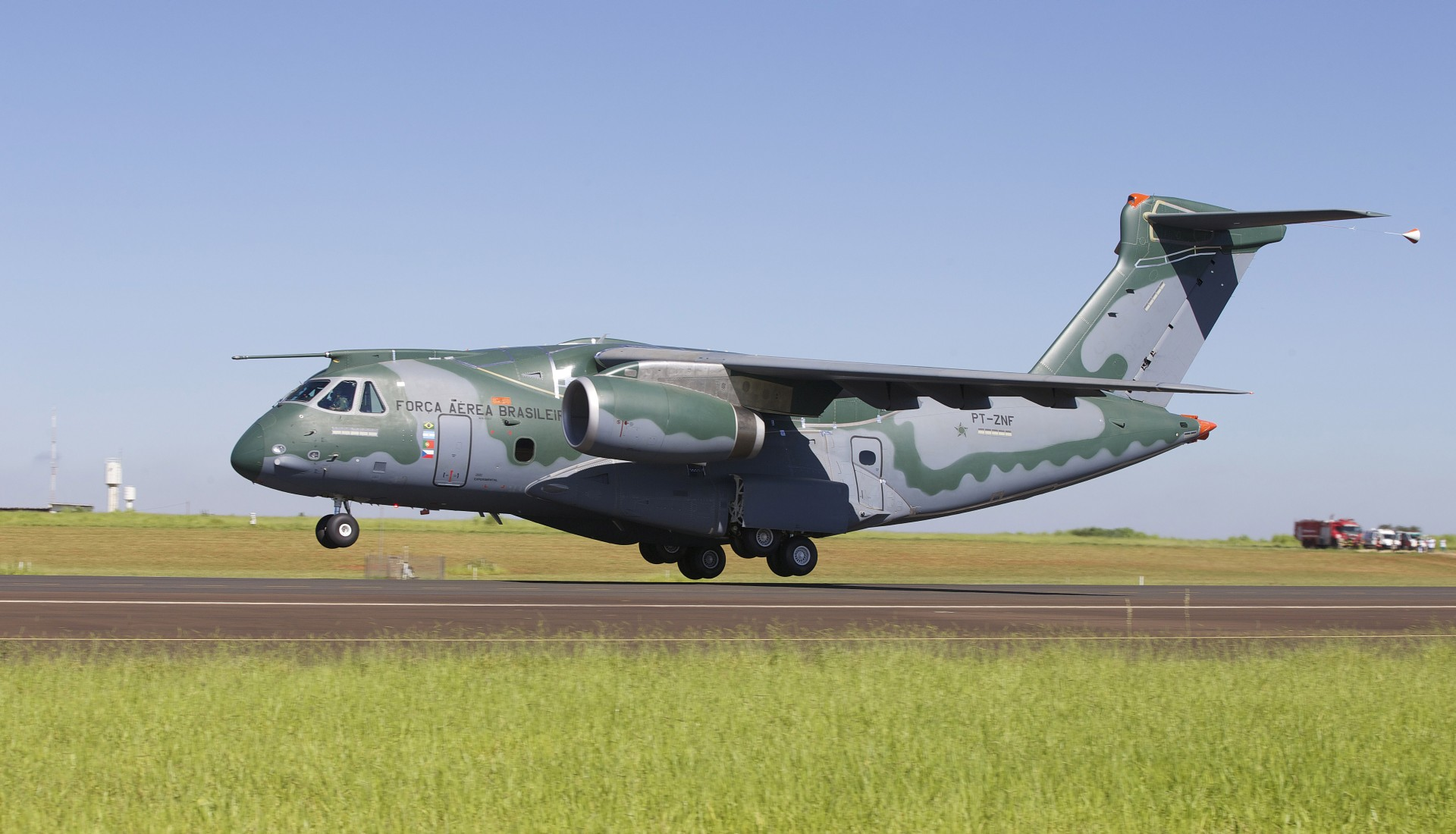 Embraer KC-390 military transport aircraft makes first ...