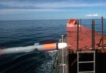 A synthetically guided Tomahawk cruise missile