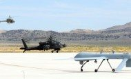US Army Helicopter Pilots Train with UAS Operators